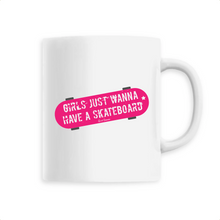 "Charger l'image dans la galerie, ""Girls just wanna have a Skate"" Mug - Sweet Banana Riders"