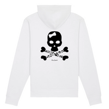 "Load image into Gallery viewer, ""Skater from Hell"" Woman Sweatshirt Organic Cotton & Recycled Polyester - Sweet Banana Riders"