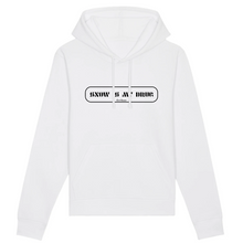 "Load image into Gallery viewer, ""Snow is my Drug"" Man Sweatshirt Organic Cotton & Recycled Polyester - Sweet Banana Riders"
