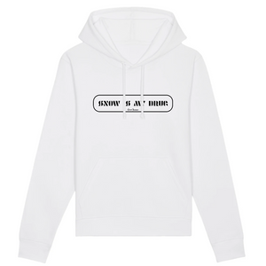 """Snow is my Drug"" Man Sweatshirt Organic Cotton & Recycled Polyester - Sweet Banana Riders"