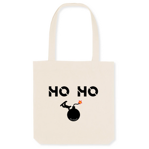 """Ho Ho"" Tote Bag in recycled Cotton and Polyester (GOTS label) - Sweet Banana Riders"