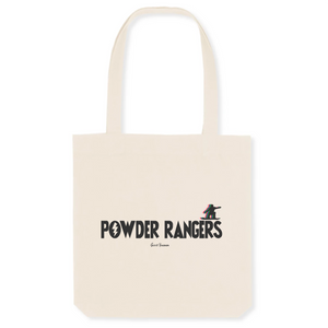 """Powder Rangers"" Tote Bag in recycled Cotton and Polyester (GOTS label) - Sweet Banana Riders"