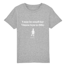 "Carregar imagem no visualizador da galeria, ""I may be small"" W Girl T-Shirt 100% Organic Cotton - Sweet Banana Riders"