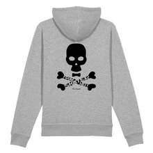 "Load image into Gallery viewer, ""Skater from Hell"" Man Sweatshirt Organic Cotton & Recycled Polyester - Sweet Banana Riders"