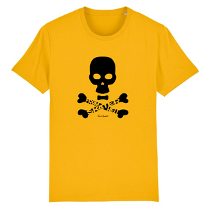 """Skater from hell"" Man T-Shirt 100% Organic Cotton - Sweet Banana Riders"