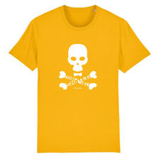 "Load image into Gallery viewer, ""Skater from hell"" W Man T-Shirt 100% Organic Cotton - Sweet Banana Riders"