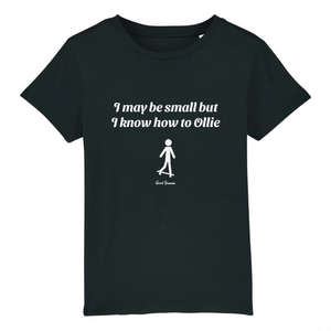 """I may be small"" W Boy T-Shirt 100% Organic Cotton - Sweet Banana Riders"