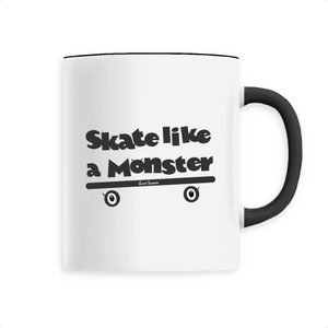 """Skate like a Monster"" Kids Mug - Sweet Banana Riders"