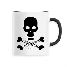"Load image into Gallery viewer, ""Skater from Hell"" Man Mug - Sweet Banana Riders"