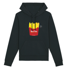 "Load image into Gallery viewer, ""Board Fries"" W Woman Sweatshirt Organic Cotton & Recycled Polyester - Sweet Banana Riders"