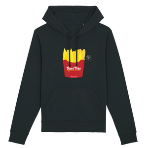 """Board Fries"" W Woman Sweatshirt Organic Cotton & Recycled Polyester - Sweet Banana Riders"