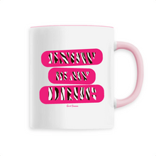 "Load image into Gallery viewer, ""Snow is my Drug"" Woman Mug - Sweet Banana Riders"