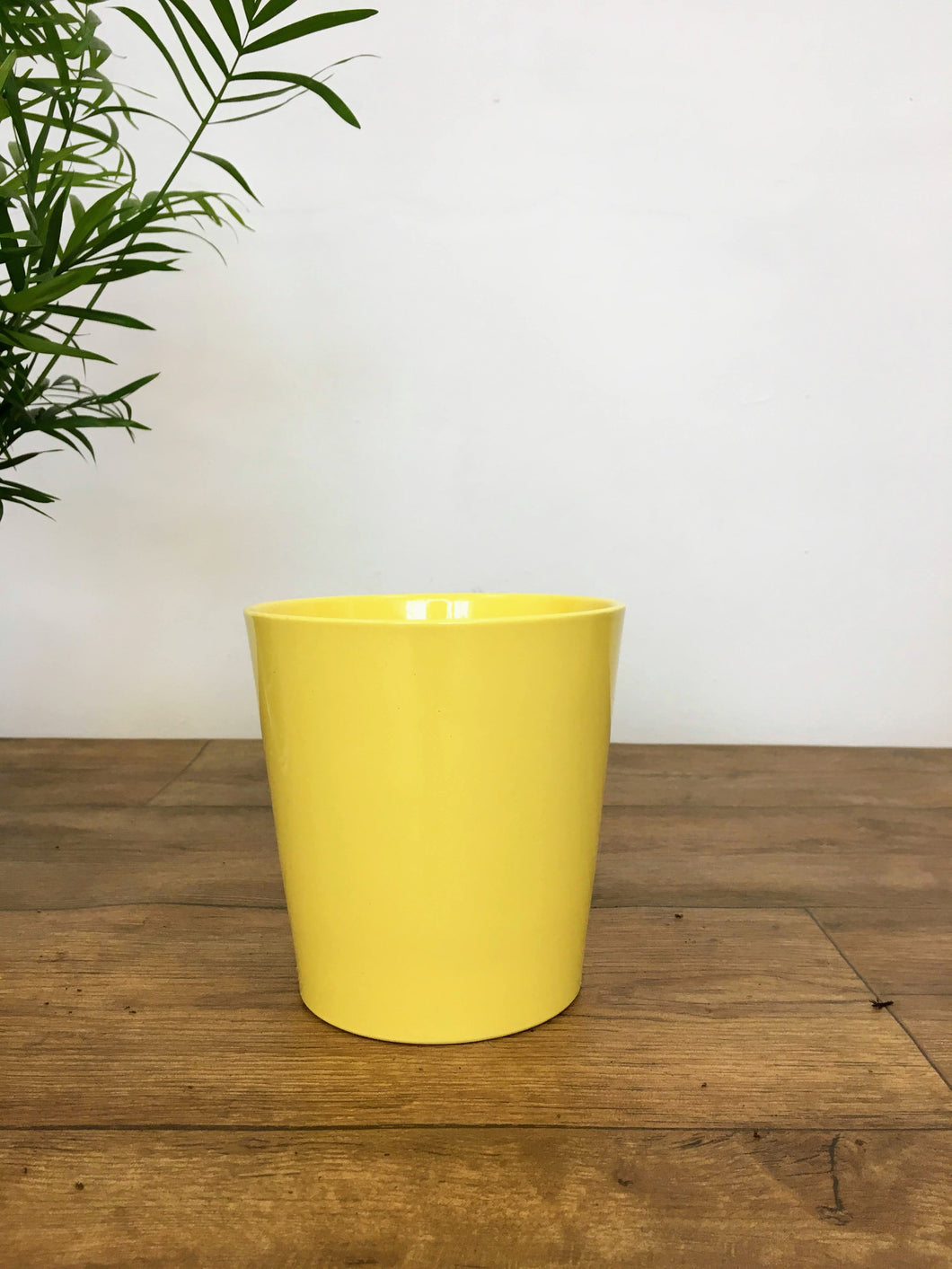 Pastel Round Pot - Yellow