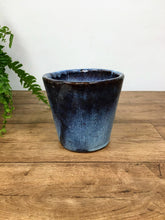 Load image into Gallery viewer, Glazed Pot - blue