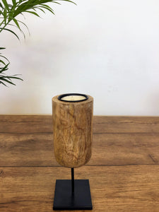 Mango Wood Tealight Holder