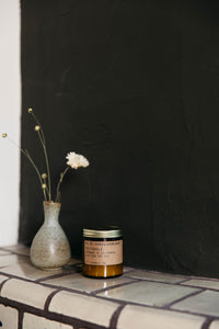 P.F Candle Co. Sandlewood Rose Scented Soy Candle