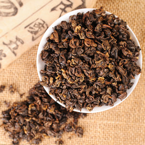 500g 2020 Yr Yunnan Dianhong Dian Hong Black Tea Chinese Kung Fu Tea Red Natural Lose Weight Sweet Honey for Milk Tea
