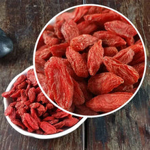 Load image into Gallery viewer, 2020 New Dried Goji Berries, Bulk Organic Goji Berry Tea Wolfberry Gouqi Berry Herbal Tea