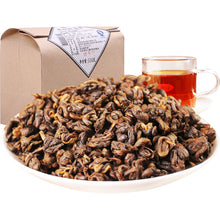 Load image into Gallery viewer, 500g 2020 Yr Yunnan Dianhong Dian Hong Black Tea Chinese Kung Fu Tea Red Natural Lose Weight Sweet Honey for Milk Tea