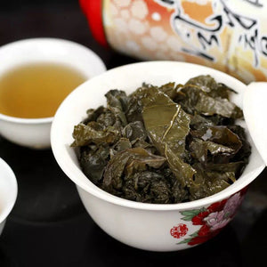 Hot Sale ! China Taiwan dongding GinSeng Oolong tea Green Food for Health Care Lose weight