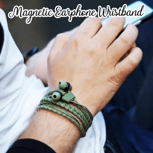 Magnetic Earphone Wristband
