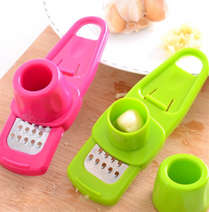 Stainless Steel PP Garlic Presses