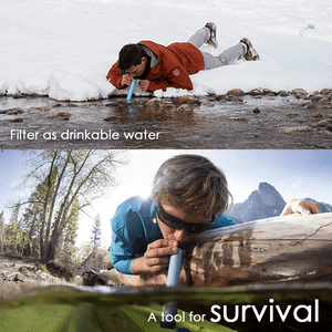 Water Filter Survival Straw