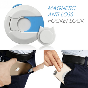Magnetic Anti-loss Pocket Lock
