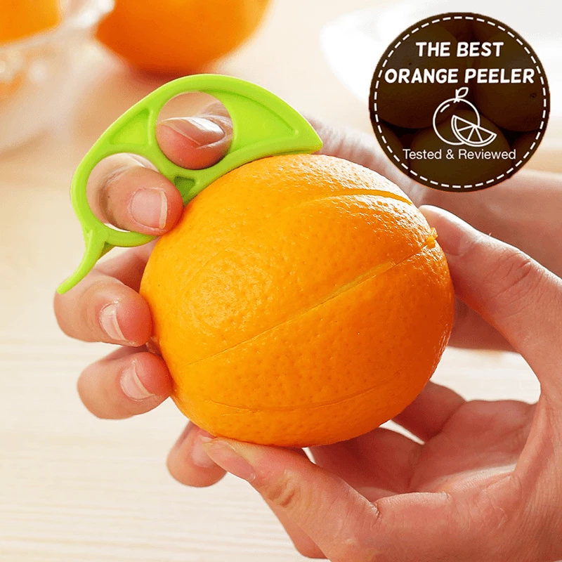 Easy Orange Peeler