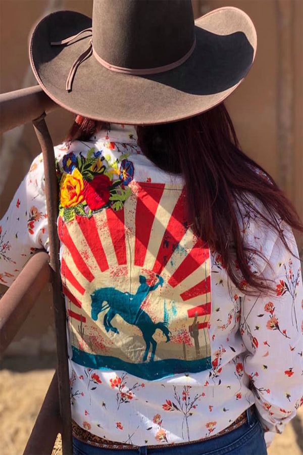 The American Bronc Buttonup