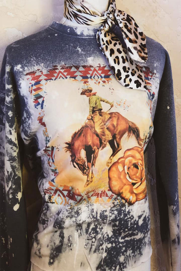 The Bleached Bronc Sweatshirt