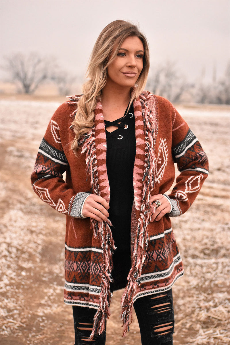The Cinnamon Cardigan