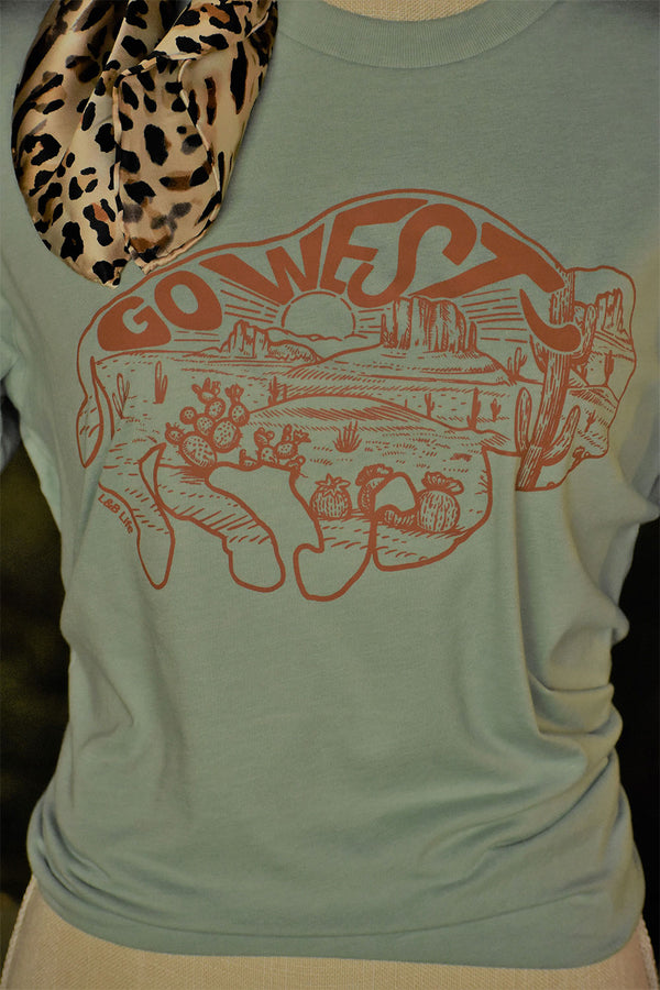 The Go West Tee