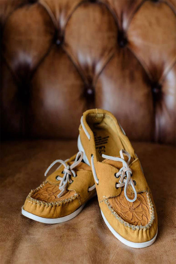 The Gold Rush Moccasins