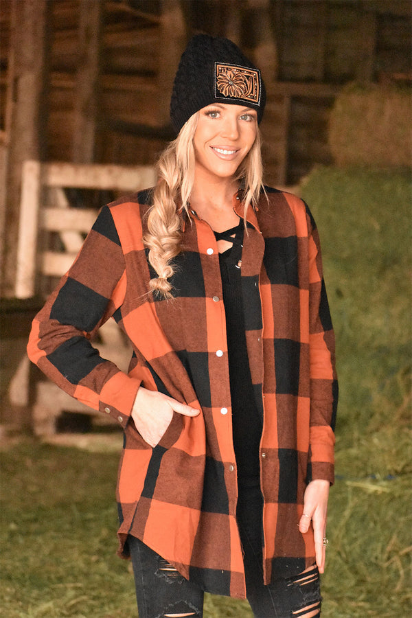 The Paradise Plaid Tunic