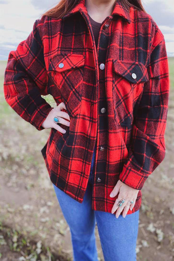 The Punchy Plaid Jacket