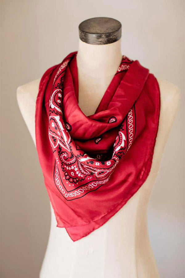 Red Bandana Wildrag