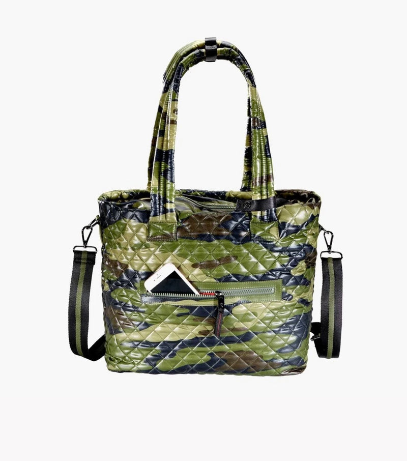 Kitchen Sink Tote - Green Camo