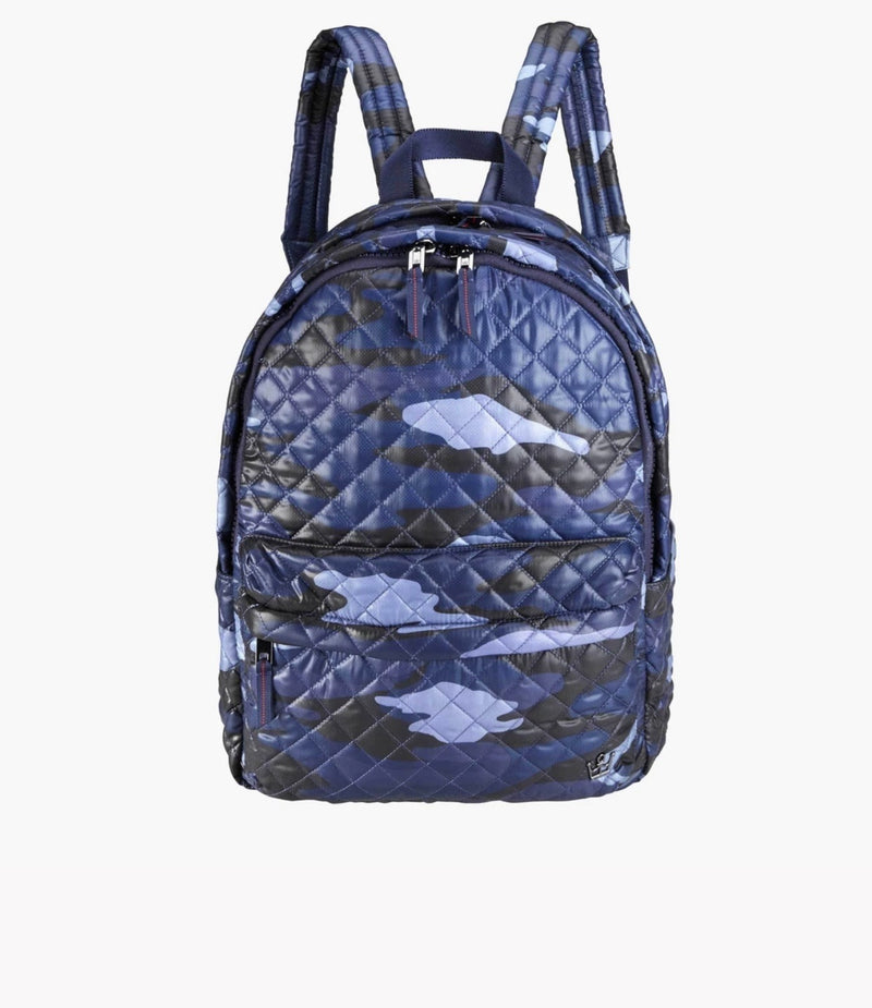 LG WNGWMN Laptop Backpack - blue camo