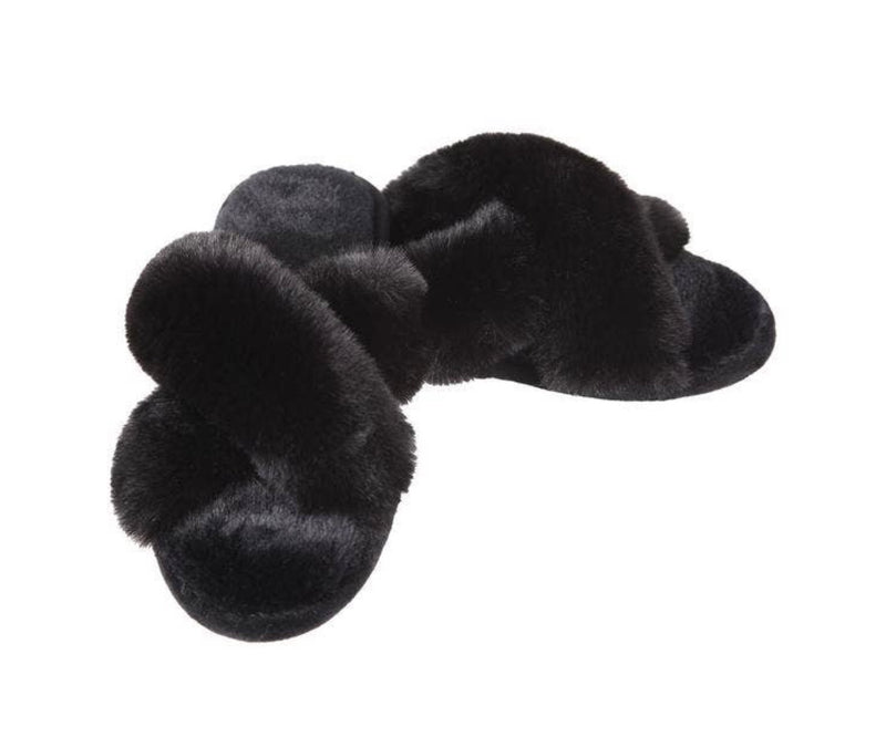 Beverley Plush Lounge Slippers