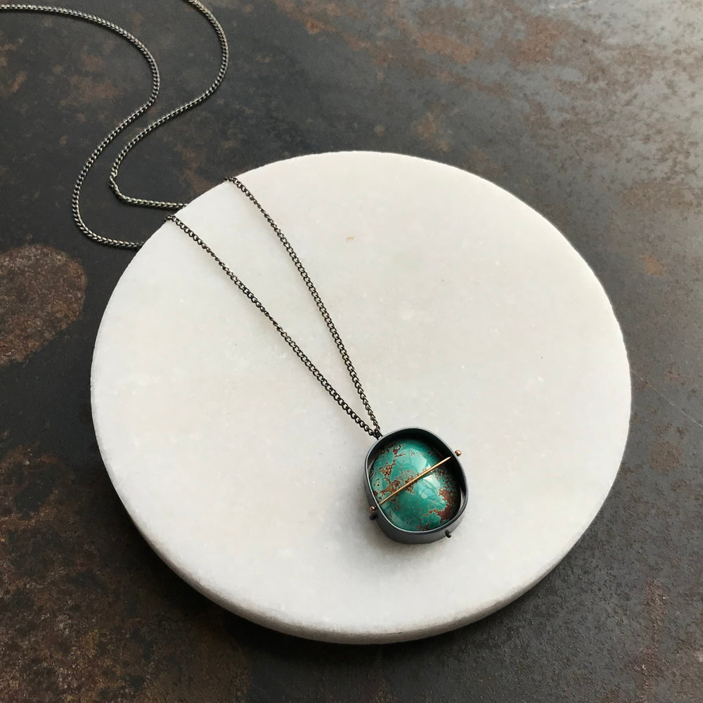 Captured Carico Lake Turquoise Necklace