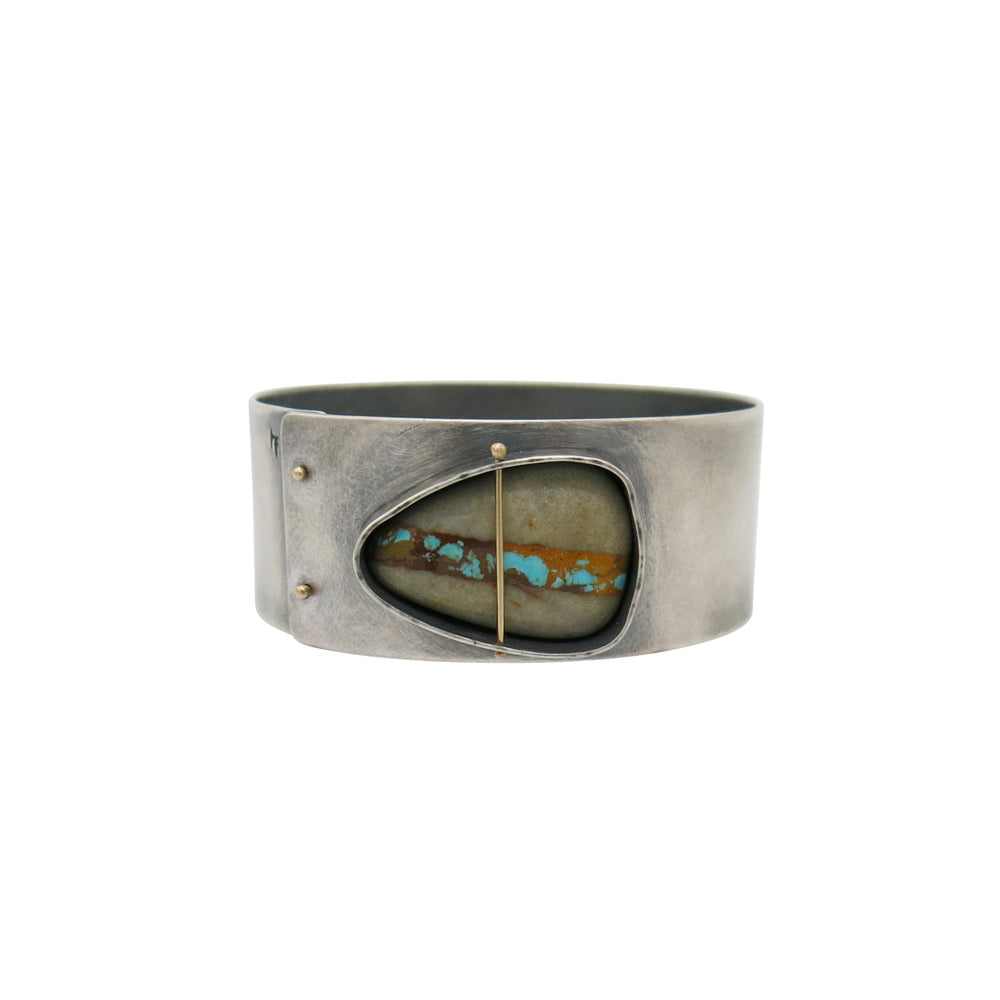 Captured Royston Ribbon Turquoise Bangle