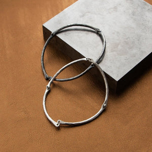 Rivet and Ring Bangle