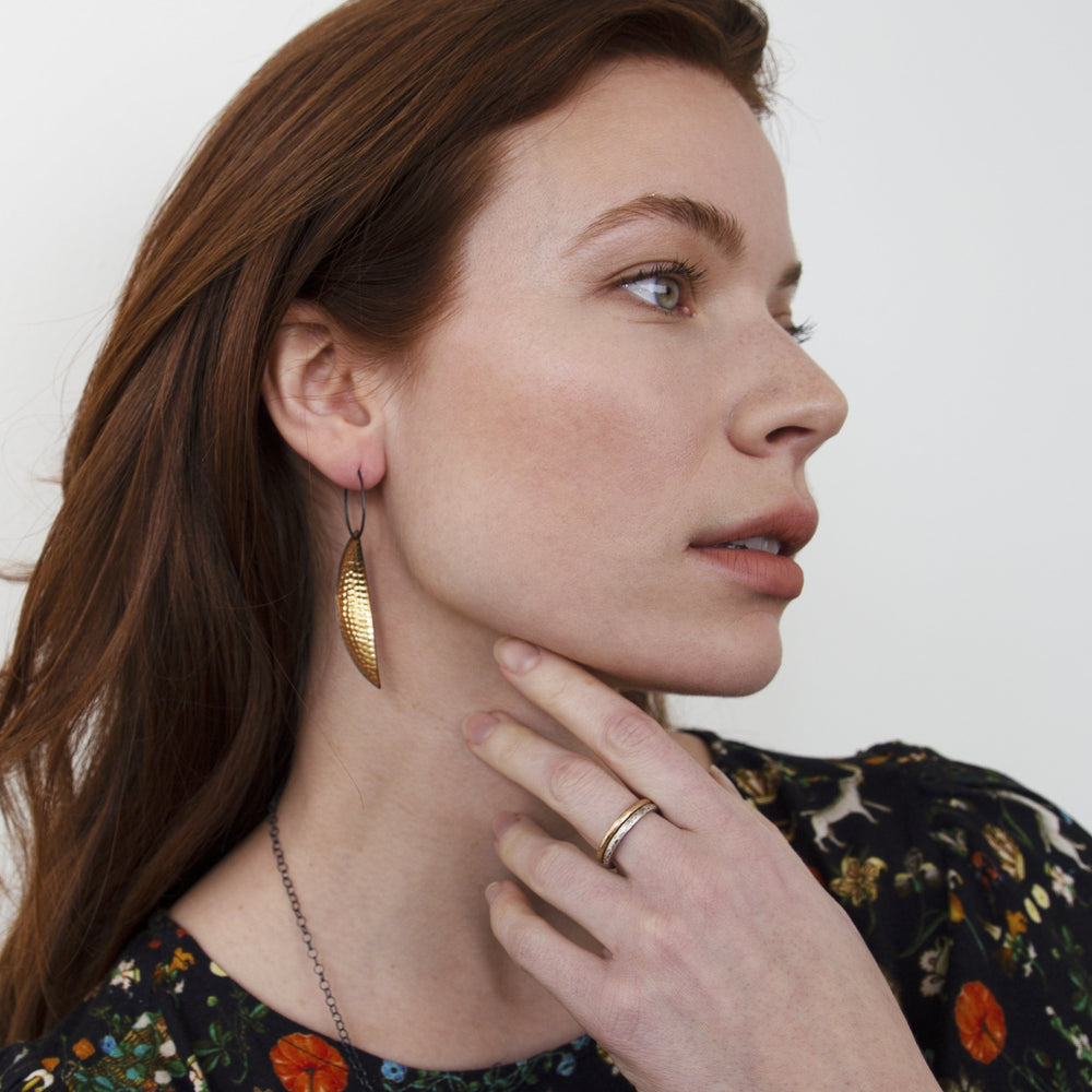Leaf Earrings - Classic
