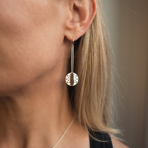 Load image into Gallery viewer, Plique Orb Earrings