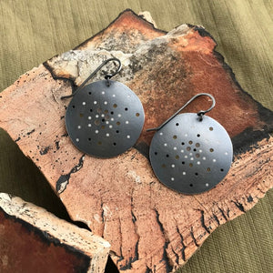 Plique Constellation Earrings