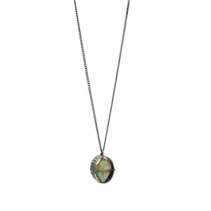 Captured Rough Opal Necklace - mini