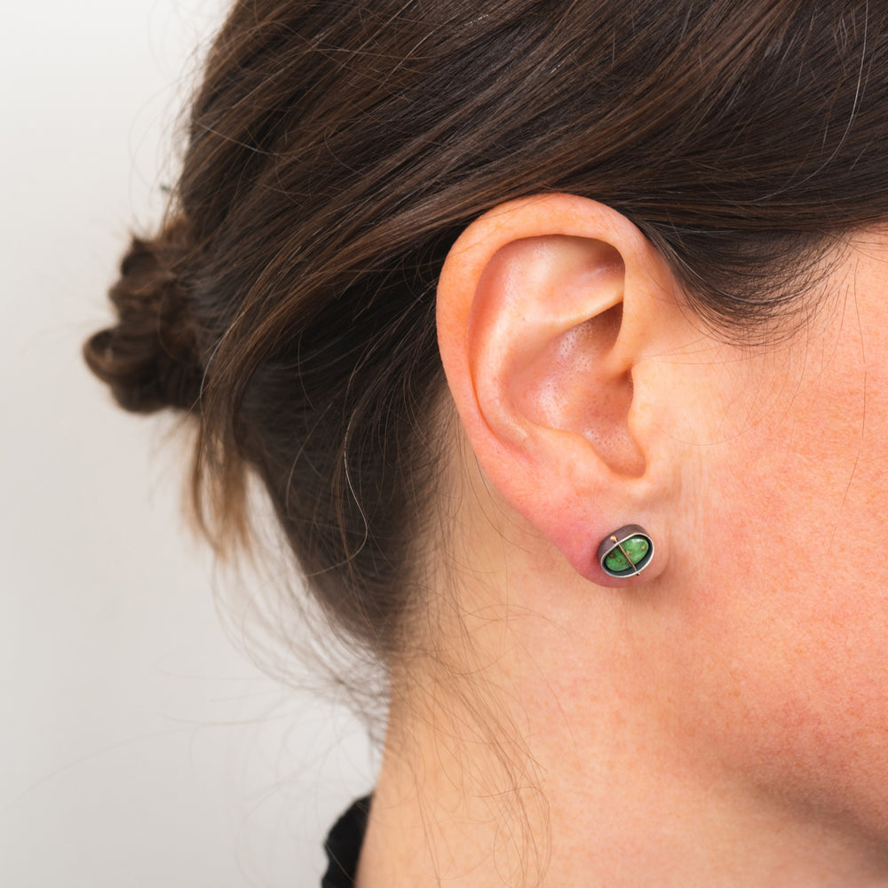 Sonoran Gold Turquoise Studs