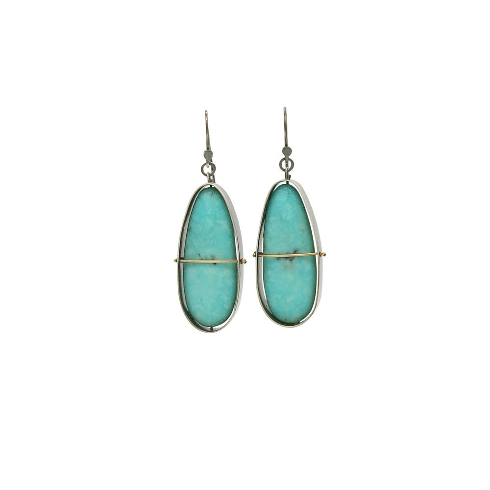 Captured Campitos Turquoise Earrings