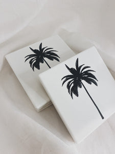 Palm Coaster - set of 4